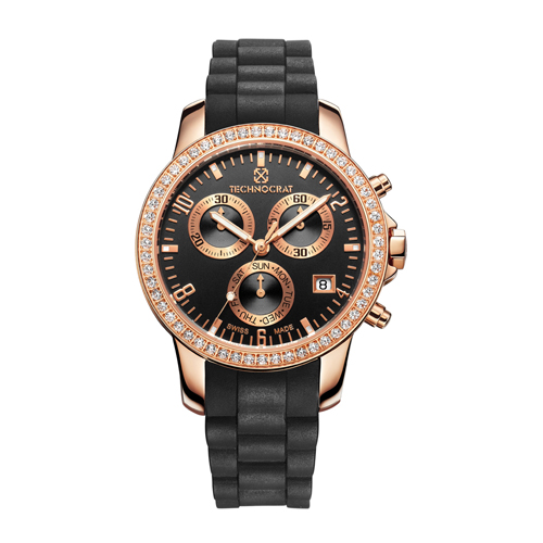 Stainless Steel Diamonds watch