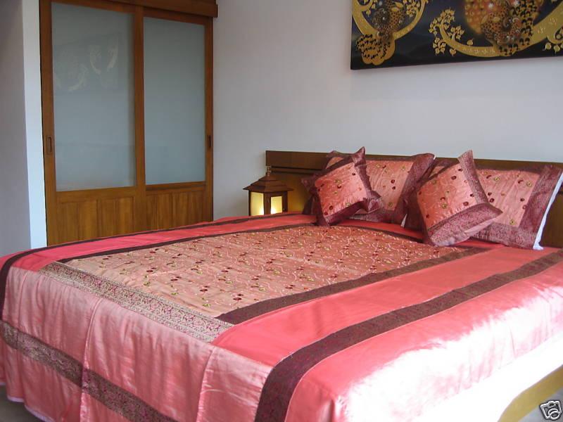 Luxury Thai Silk Bed Sheets