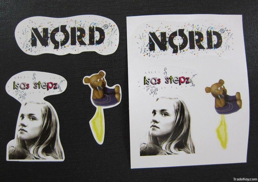 promotional adhessive sticker
