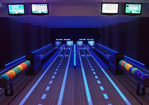 Synthetic Bowling Lane