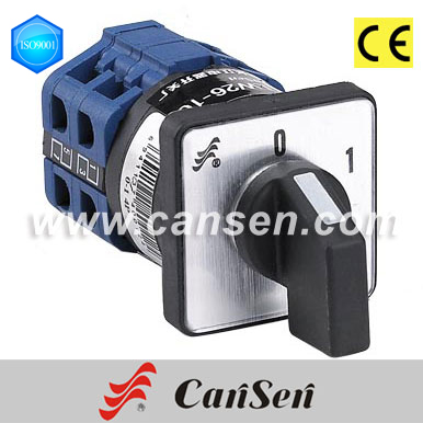 Changeover switch LW26-10 (CE Certificate)