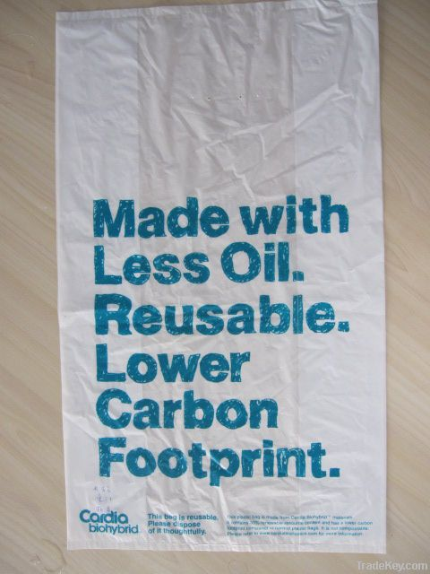 100% Biodegradable bag corn starch bag plastic bag