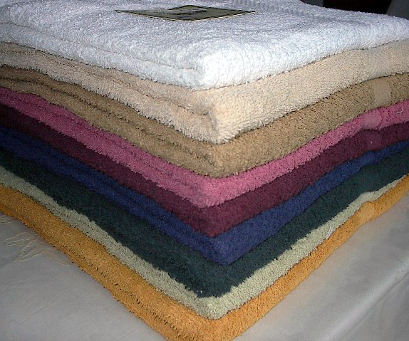 100 % Cotton Terry Bath Towels