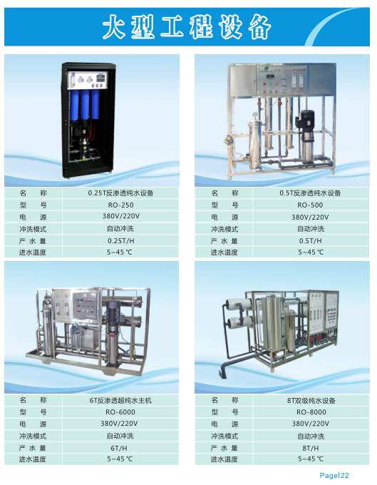Hikins 1200g Industrial / Commercial UF RO Water Purification Treatment System