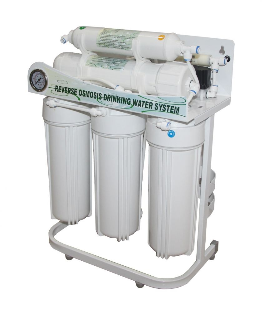 Hikins 600g RO Water Treatment Purification Equipment Water Purifier with Iron Frame and No Tank