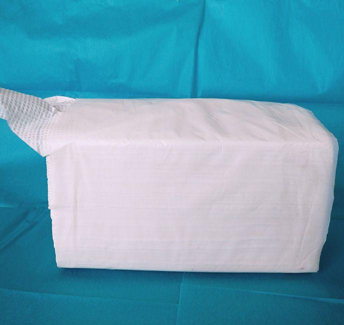 fold hand paper towel