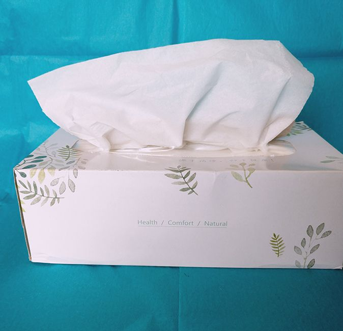 wholesale facial boxed tissue paper