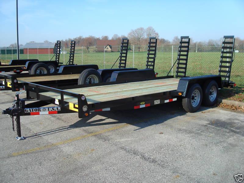 New 16ft 10k bobcat skidsteer utility car trailer by gator made new 16ft 10k bobcat skidsteer utility car trailer swarovskicordoba Image collections