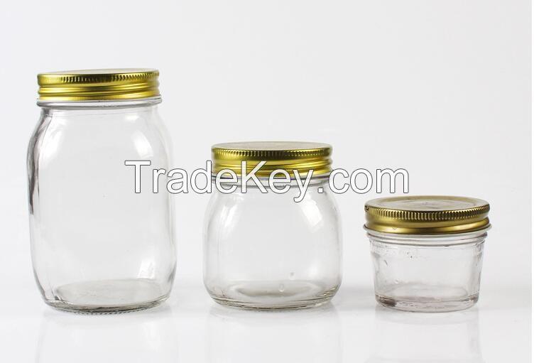 salad glass jars