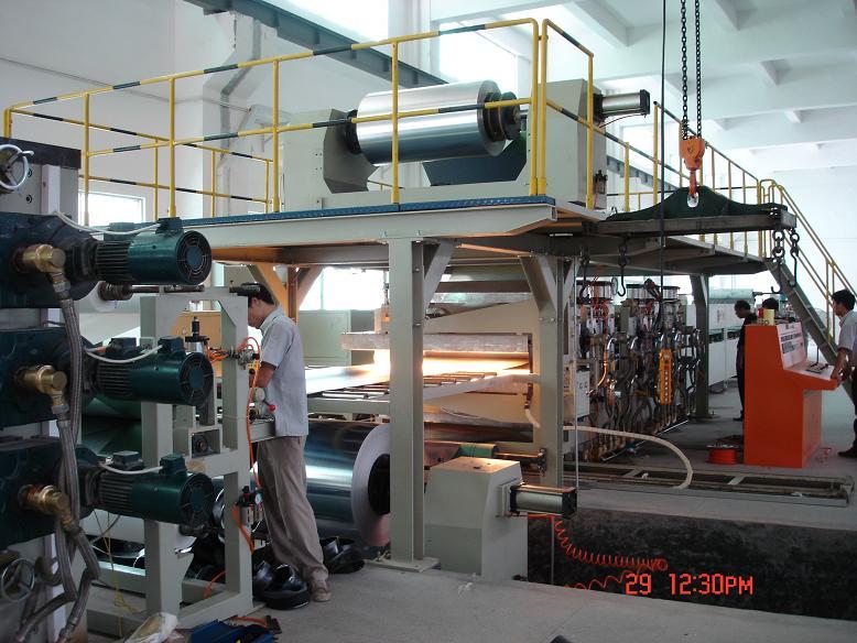 aluminum-plastic composite panel product line