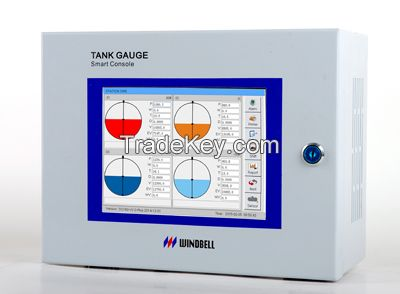 Automatic tank gauges for petrol station and fuel depot