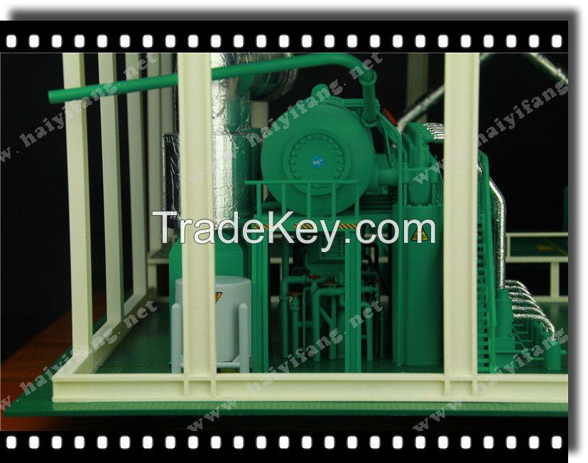 mechanical model/simulation model