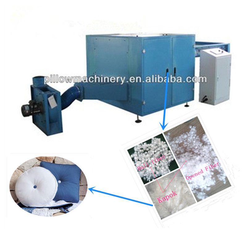Automatic ball fiber pillow machine