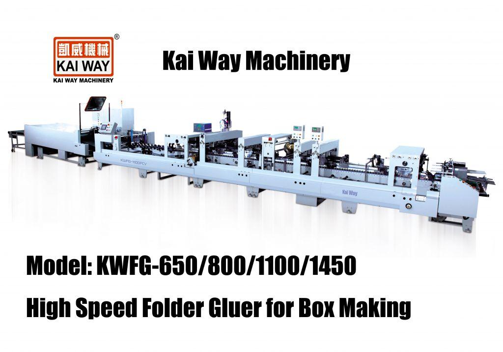 High Speed Lock Bottom Folder Gluer for Box Making
