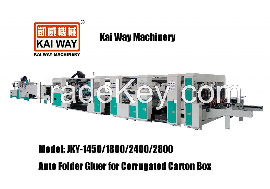 Auto Folder Gluer for Corrugated Carton Box/Corrugated Box Folder Glue