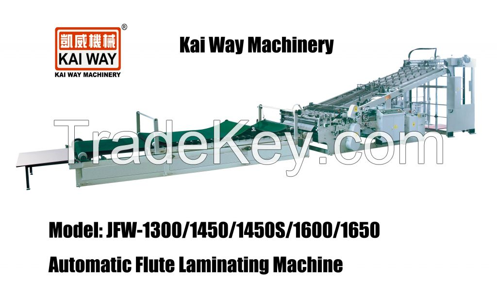Auto Flute Laminating Machine