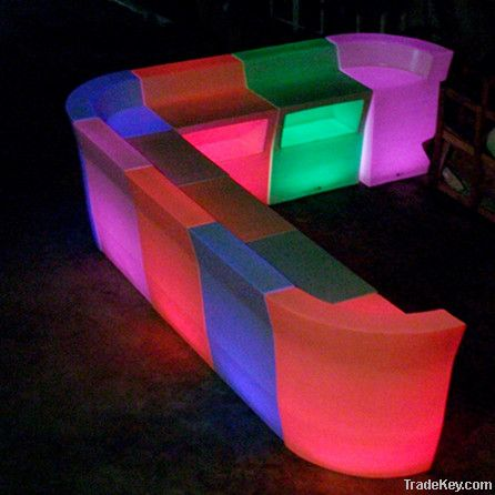 led table/led furniture/bar furniture