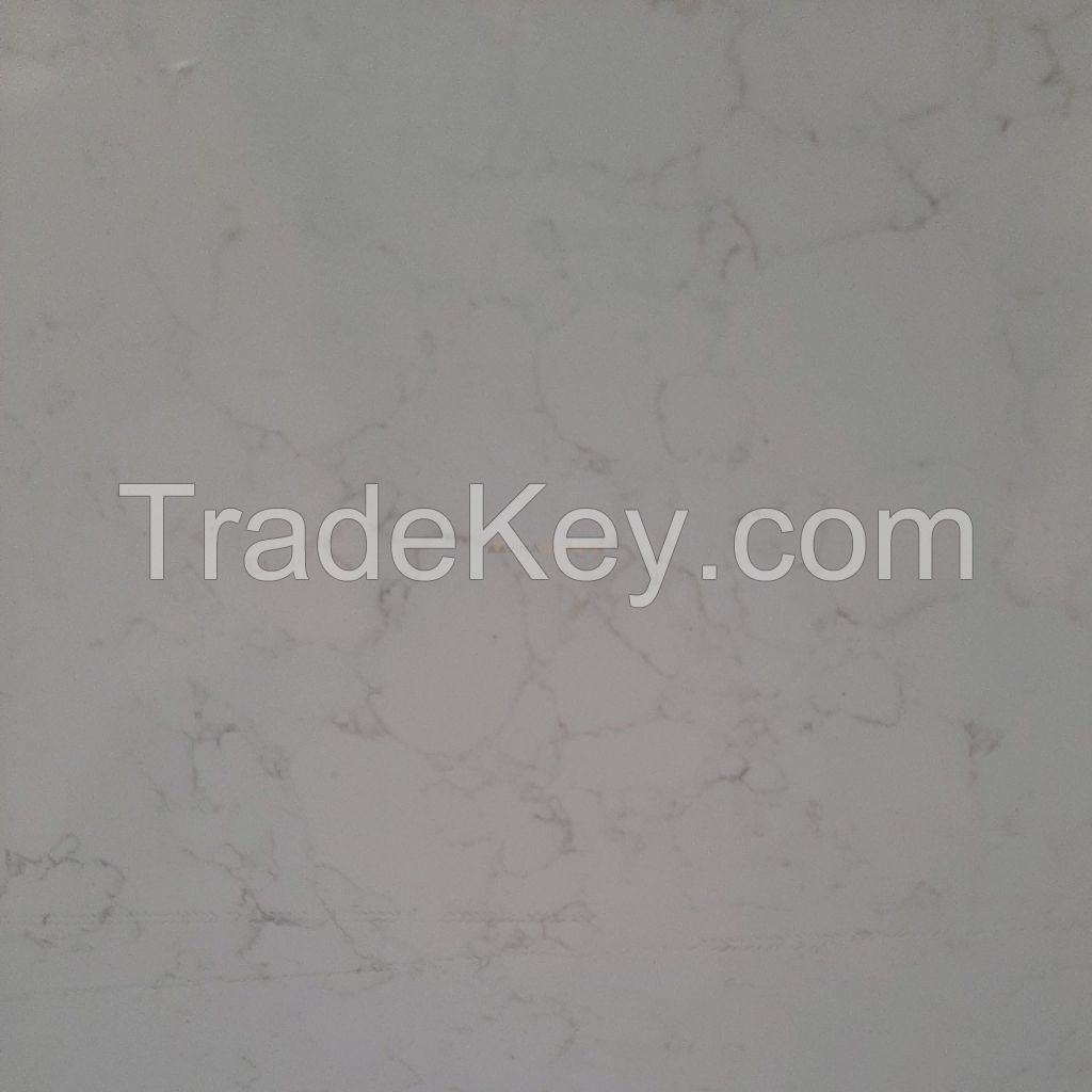 High Quality Quartz Solid Surface - Carrara Series