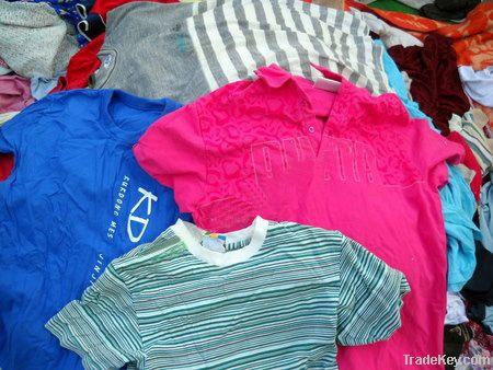 Second hand clothing