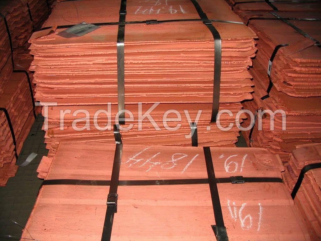 Copper cathode 99.99%