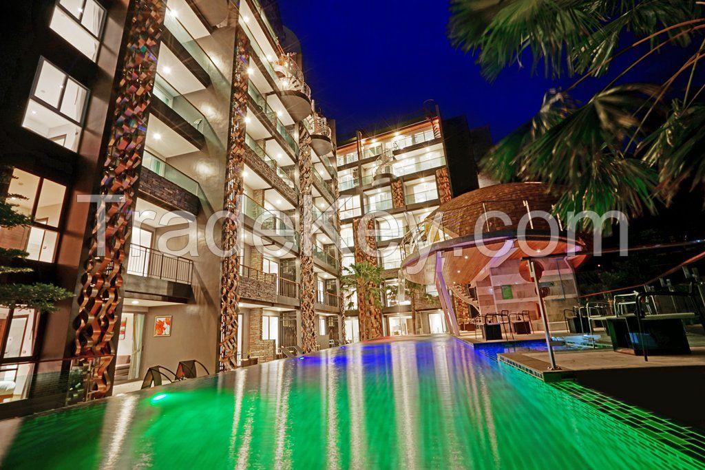 luxurious apartments in Pattaya or Phuket
