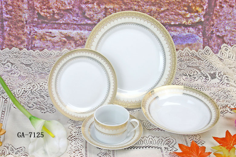 Porcelain 20 Peaces Dinner Set
