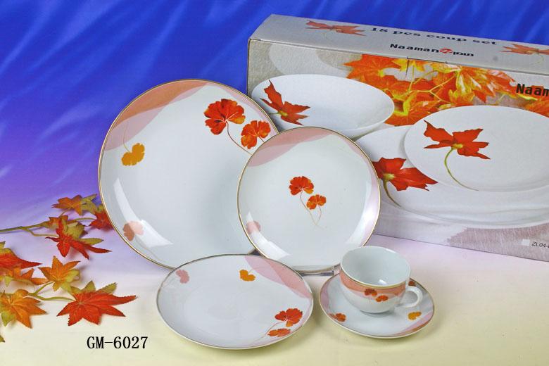 Porcelain 20 Peaces Dinner Set