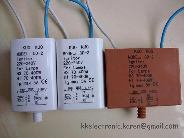 electronic ignitor CD-2A