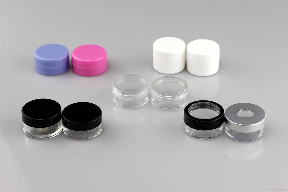 Plastic Cream/Cosmetic Jar