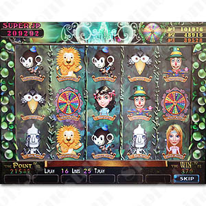 Wizard of Oz - Cherry Master Game Board