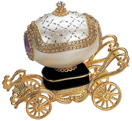 Eggshell Jewelry Box
