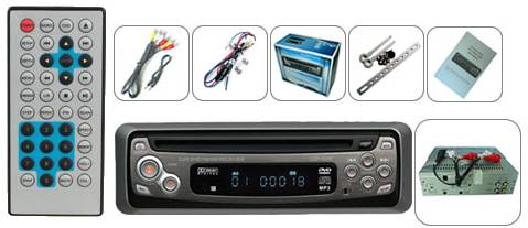 Car DVD Player with MPEG4 and USB