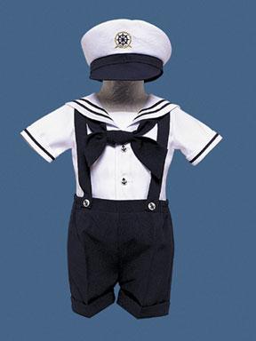 Baby/Toddler Boy's Sailor Dressy Set