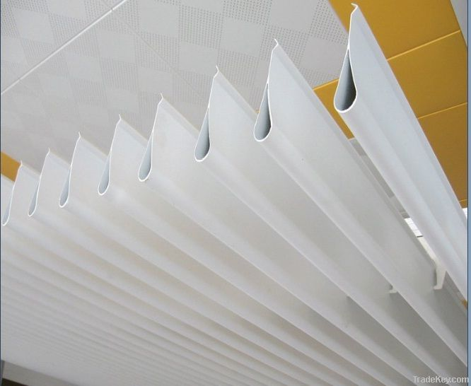 Drop aluminum ceiling