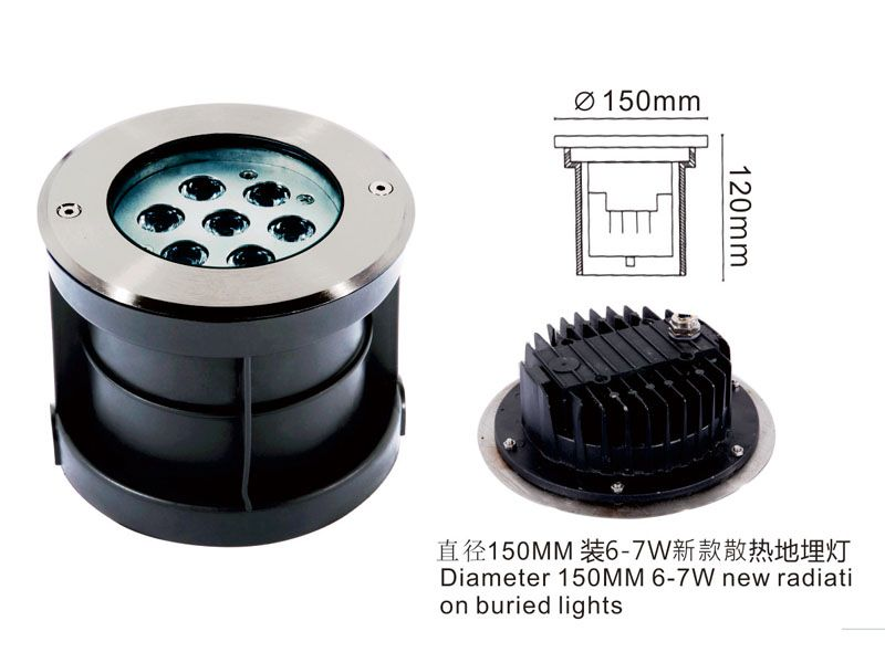 Hot Selling COB 20W LED Underground Light with Ce Approval