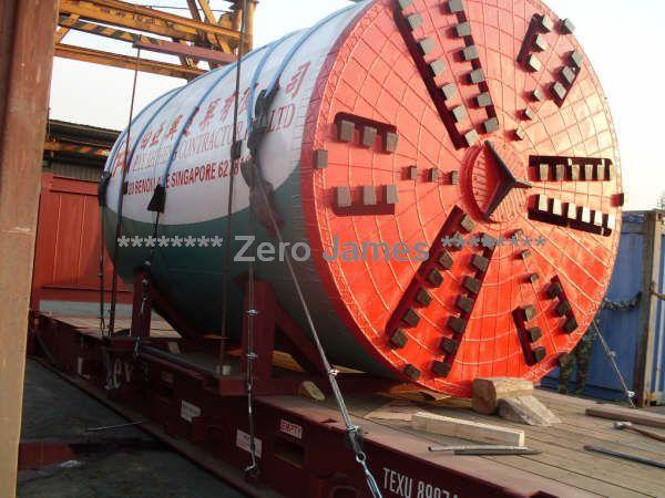International heavy machinery shipping