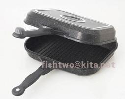 BOTHSIDE MARBLE COATED TWIN PAN