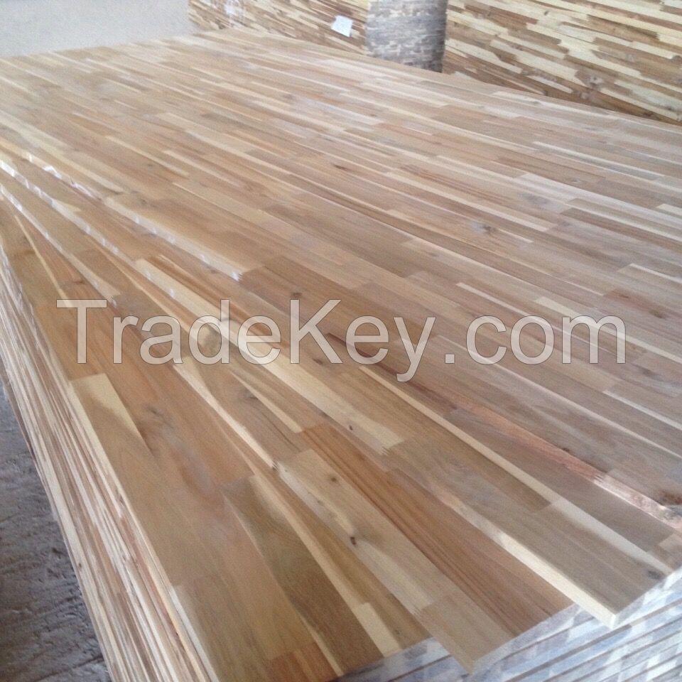 Acacia wood finger joint board/worktop/shelving/Solid Kitchen worktops/Counter Top