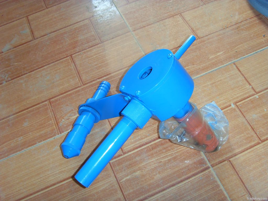 GRC spray machine and GFRC spray gun