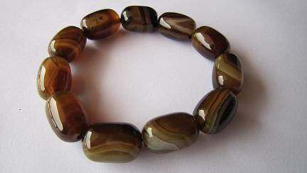 Color Agate Bracelet