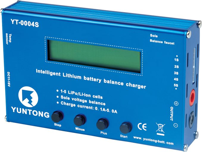 Intelligent Lithium Battery Balance Charger