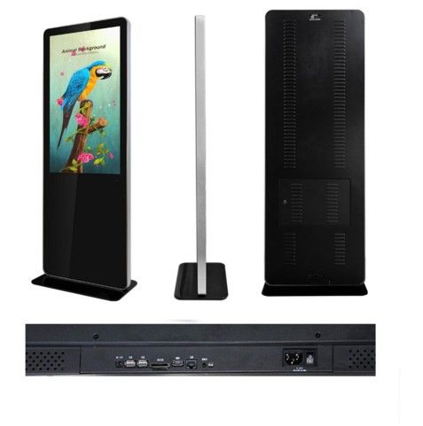 46 inch standing lcd digital advertising display with pc and android