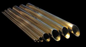 Brass tubes for heat exchangers