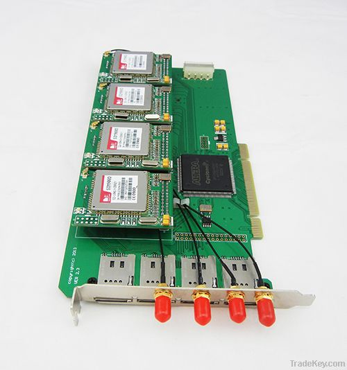 stable 4 sim asterisk gsm card, goip 4, goip gsm gateway, terminal gsm gateway