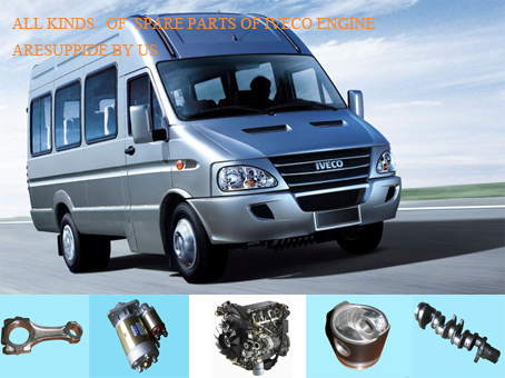ALL KINDS OF SPARE PARTS OF IVECO ENGINE