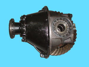 assembly of rear axle final retarder/differential assy.