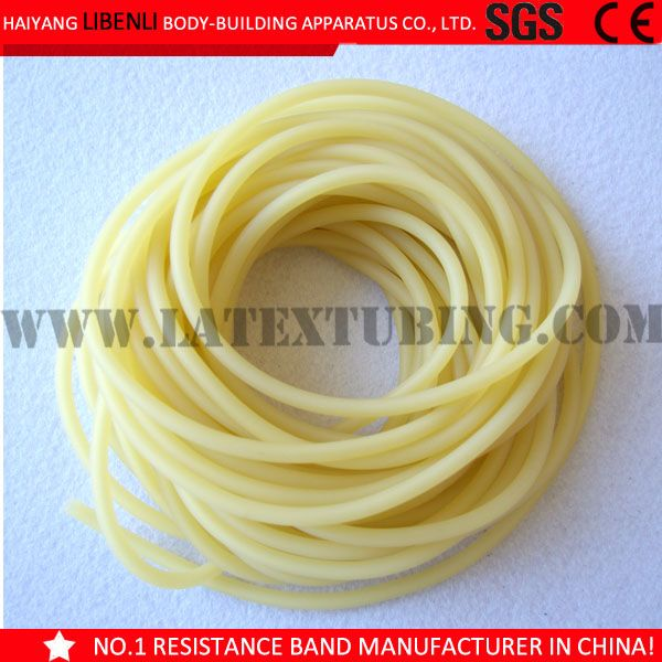 Amber color extruded bulk natural colored surgical tubing