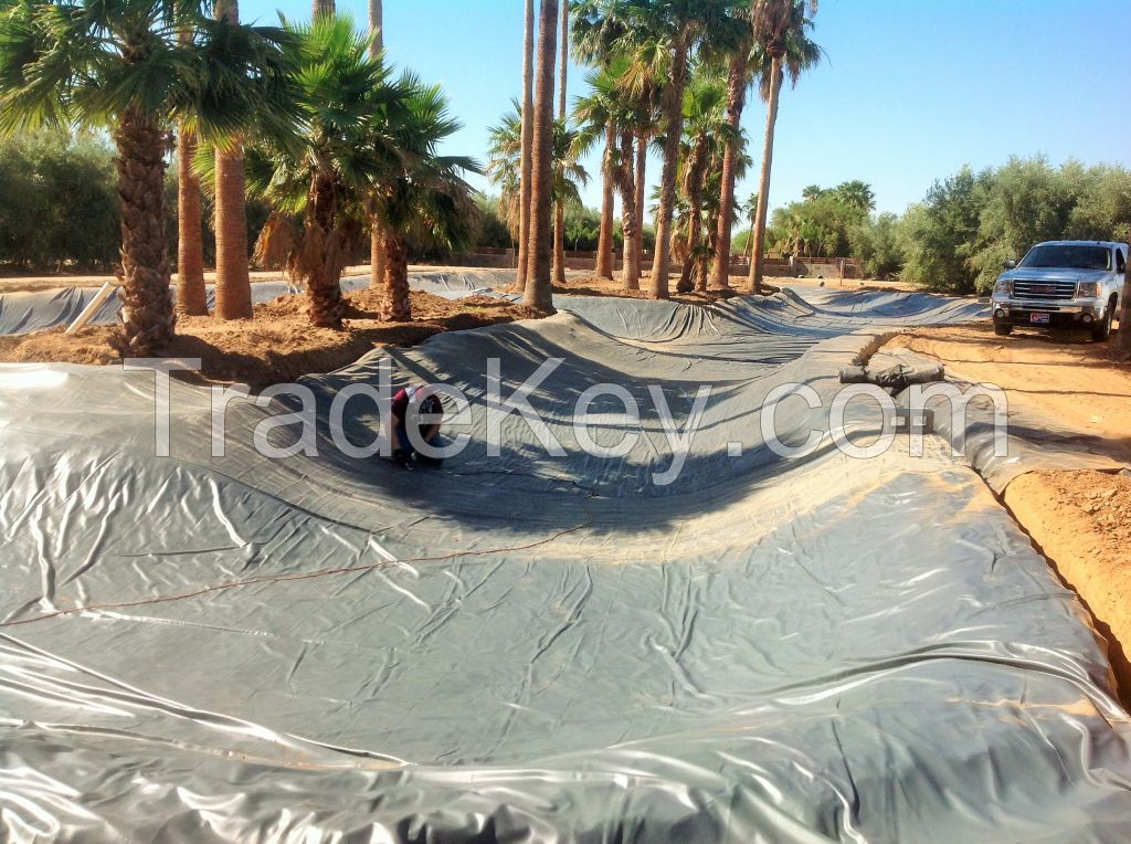Pond liners with high quality: It can last for 20 years or more!