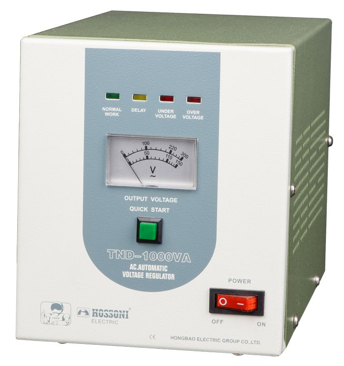 TND/TNS High Accuracy Full-Automatic AC Voltage Stabilizer