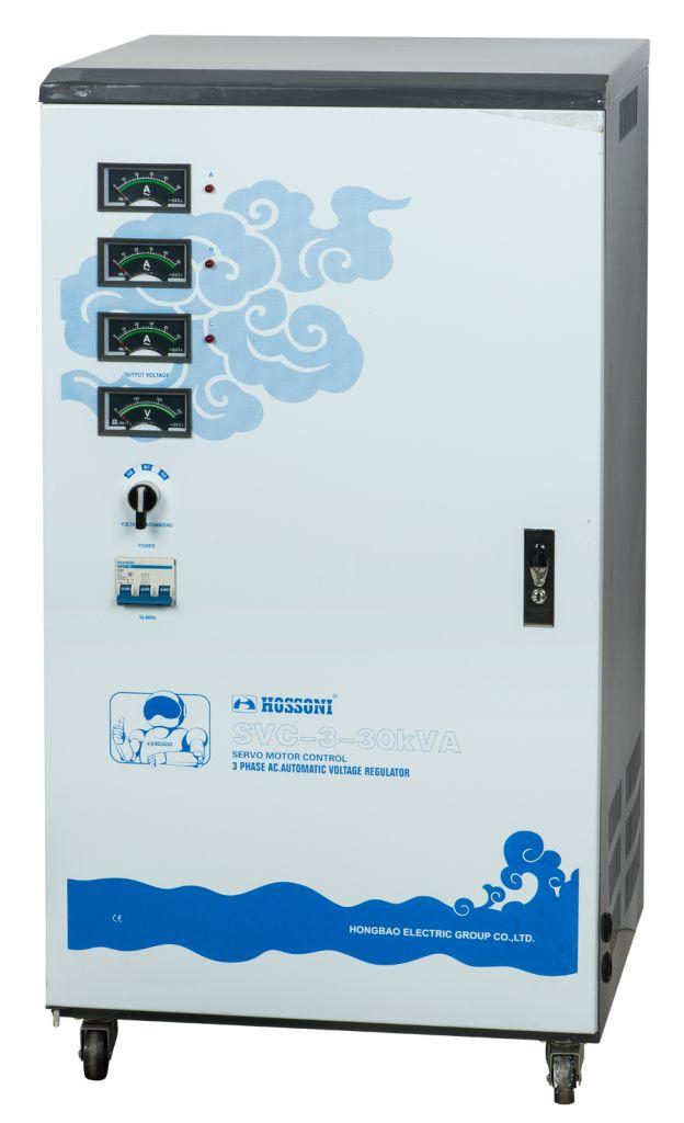 SVC series Three Phase Automatic Voltage Regulator